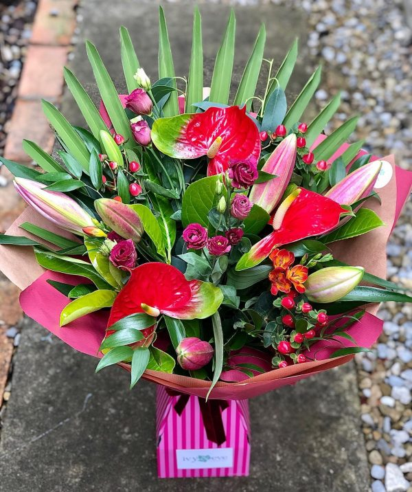 Florists Choice Luxury Bouquet with Lilies
