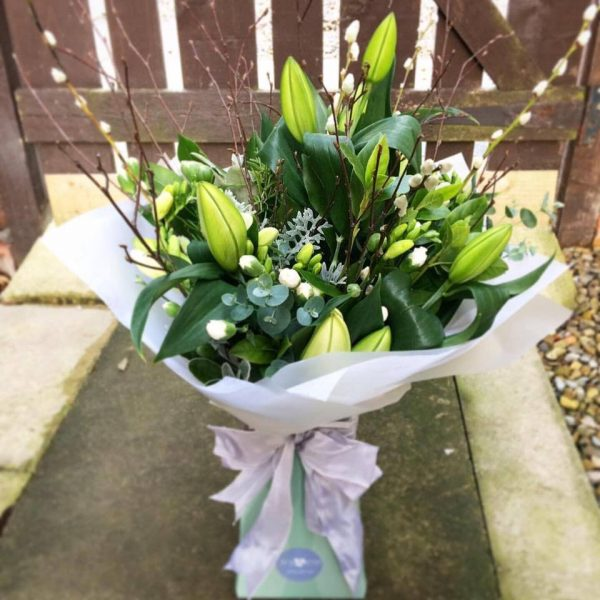 Purity - Luxury Bouquet with White Lilies