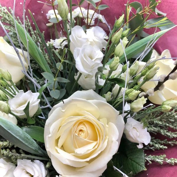 Purity - Luxury Bouquet with White Roses