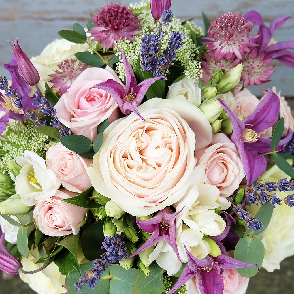 Gorgeous wedding flowers created by Ivy & Eve florist in Baildon