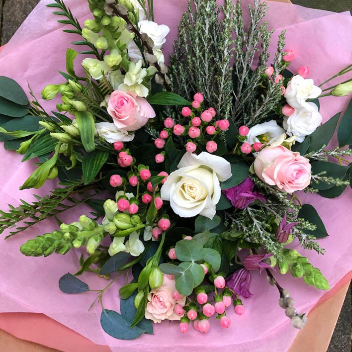 Beautiful flower bouquet created by Ivy & Eve florist in Baildon